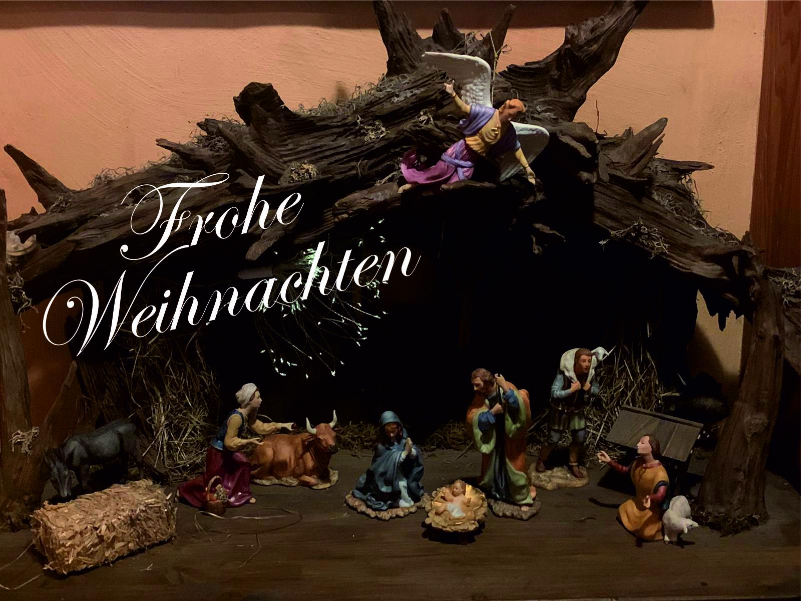 frohe Weihnachtten